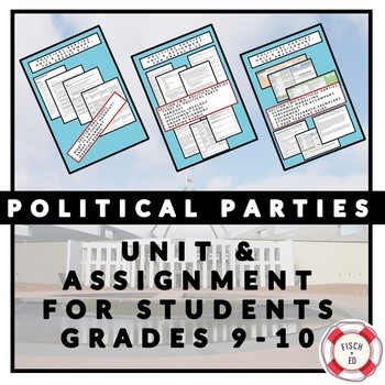 POLITICAL PARTIES UNIT AND CREATE A POLITICAL PARTY ASSIGNMENT