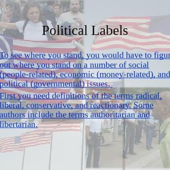 Political spectrum  PPT
