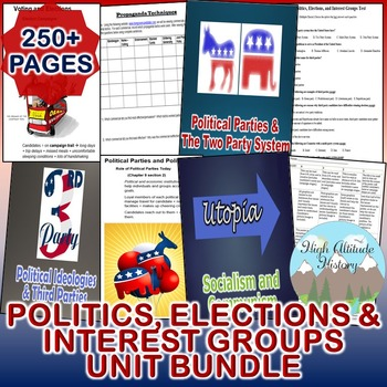 Politics, Elections and Interest Groups Unit (Government)