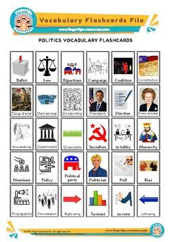 Politics & Government - English Vocabulary Flashcards