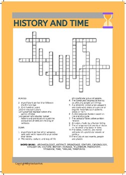 History and Time -A Word Puzzle