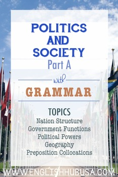 Politics & Society (Unit A Packet): The Purpose of Government