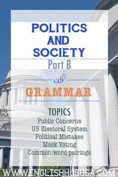 Politics & Society (Unit B Pack): Elections (Adult ESL/ EL Civics)