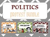 Politics of Protest PowerPoint Bundle