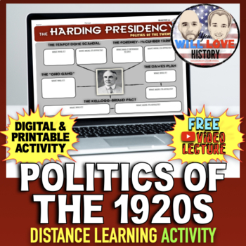 Politics of the Twenties Activity