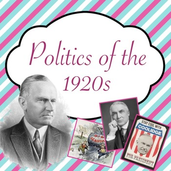 Politics of the 1920s PowerPoint