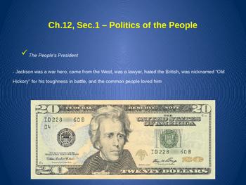 Politics of the People - Jacksonian Democracy
