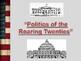 Politics of the Roaring Twenties PowerPoint