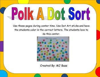 Polk A Dot Letters Center