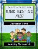 Polk Street School MONSTER RABBIT RUNS AMUCK! * Discussion Cards