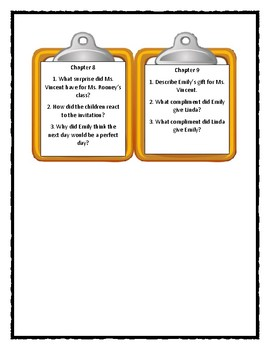 Polk Street School SNAGGLE DOODLES * Discussion Cards