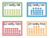Polk-a-Dot Floor Numbers 21-24
