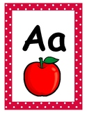 Polka Alphabet Posters