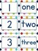 Polka Dot 1-10 number pack PLUS flashcards