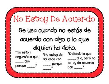 Polka Dot Accountable Talk Kit in Spanish