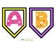 Polka Dot Alphabet Banner