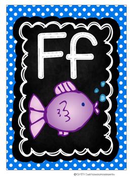Alphabet Cards {Polka Dot}