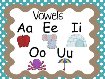 Alphabet Cards- Large and Small Sets