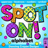 Polka Dot Alphabet Clip Art | Bulletin Board Letters