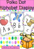 Polka Dot Alphabet Display NSW Font