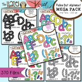 Polka Dot Alphabet MEGA Pack {Save $8.75 by Purchasing 5 S