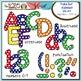 Polka Dot Alphabet MEGA Pack {Save $8.75 by Purchasing 5 S