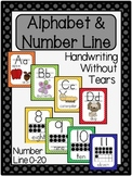 Polka Dot Alphabet & Number Line (Handwriting Without Tears)