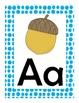 Polka-Dot Alphabet Poster