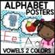 Polka Dot Alphabet Posters (Polka dot turquoise, pink, purple, lime green)