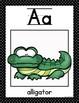 Polka-Dot Alphabet Posters