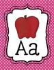 Polka Dot Alphabet Posters FREEBIE!