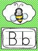 Polka Dot Alphabet Posters. Preschool-Kindergarten