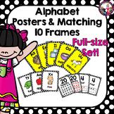 Alphabet Posters Polka Dot