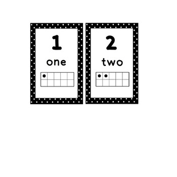 Polka-Dot Alphabet with Vowels and Matching Ten Frames 0-20
