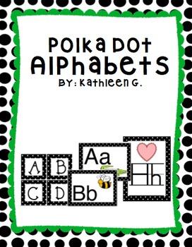 Polka Dot Alphabets