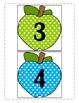 Polka Dot Apple Growing Number Line