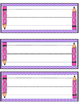 Polka Dot Back-to-School Name Tags