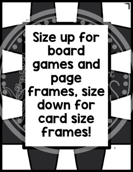 Board Game Frames Clipart