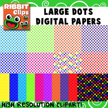 Polka Dot Background Papers