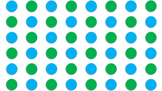 Polka Dot Background - blue and green