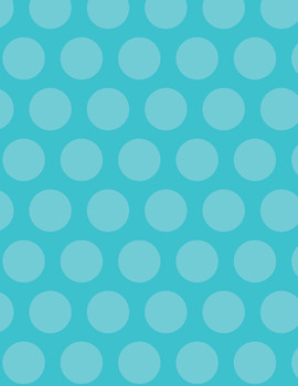 Polka Dot Backgrounds - 8.5 x 11 - 300dpi - 35 Colors!