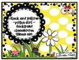 Polka Dot Backyard/Garden Classroom Theme Set