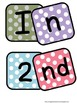 Polka Dot Banner for Display of 2nd Grade Work