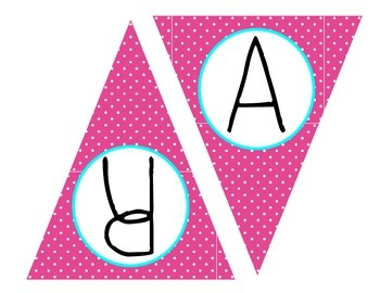 Polka Dot Banner (grades 1-5)