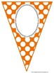 Polka Dot Banner in Primary Colors For Year Long 1st Grade