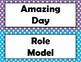 Polka Dot Behavior Chart With Parent Calendars