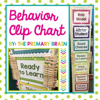 Polka Dot Behavior Clip Chart