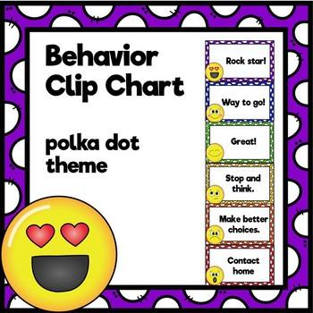 Behavior Clip Chart (Back to School)