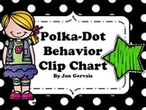 Polka Dot Behavior Clip Chart Freebie