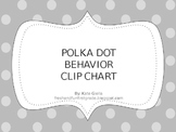 Polka Dot Behavior Clip Chart and Behavior Logs